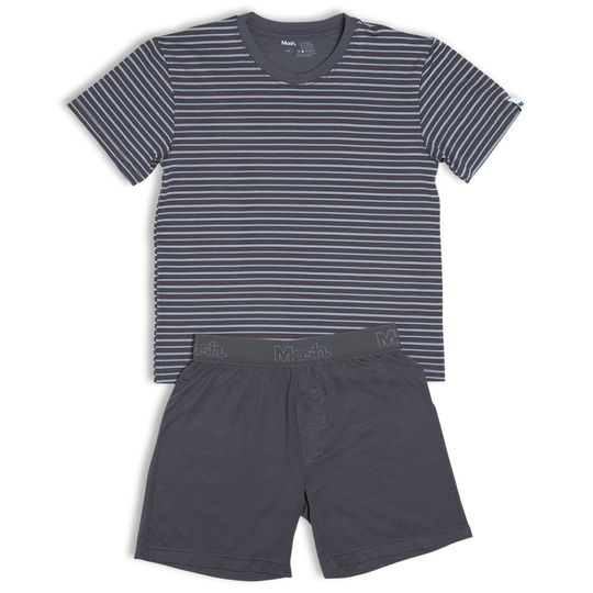 2cfe0bd2d151c Conjunto Pijama Modal Curto Infantil   PIJAMAS INFANTIS MASH - Mash