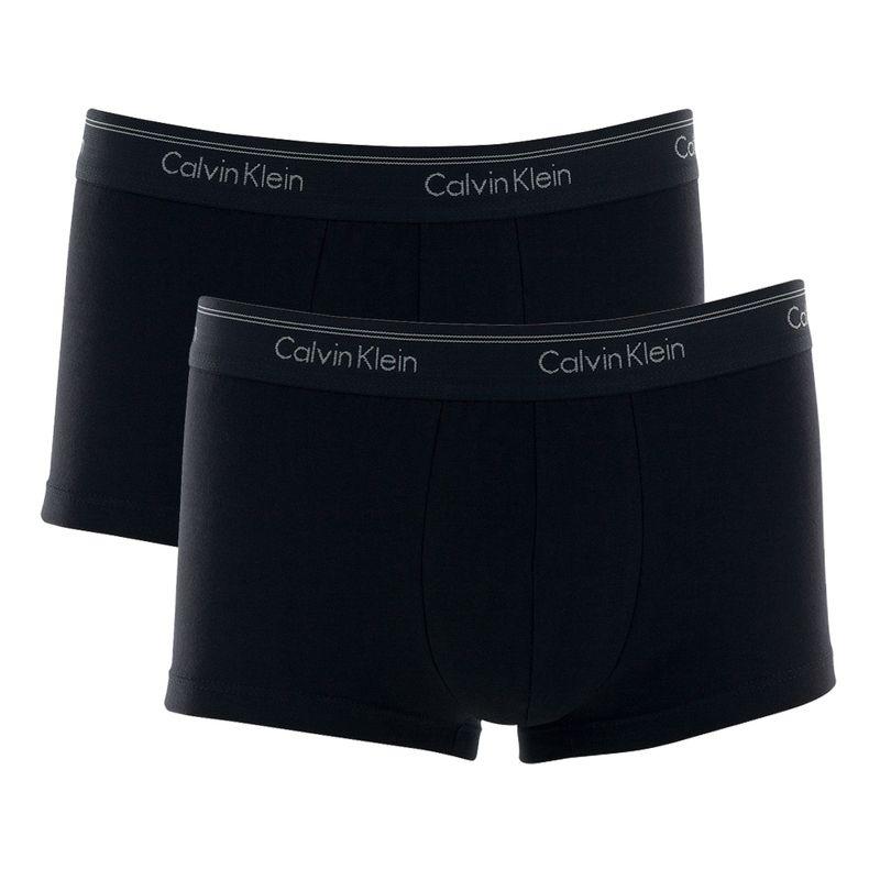 Kit 2 Cuecas Sungão Preto Cotton Calvin Klein