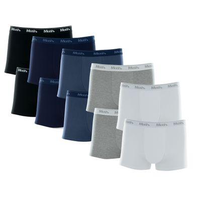 Kit 10 Cuecas Boxer Cotton Sortido