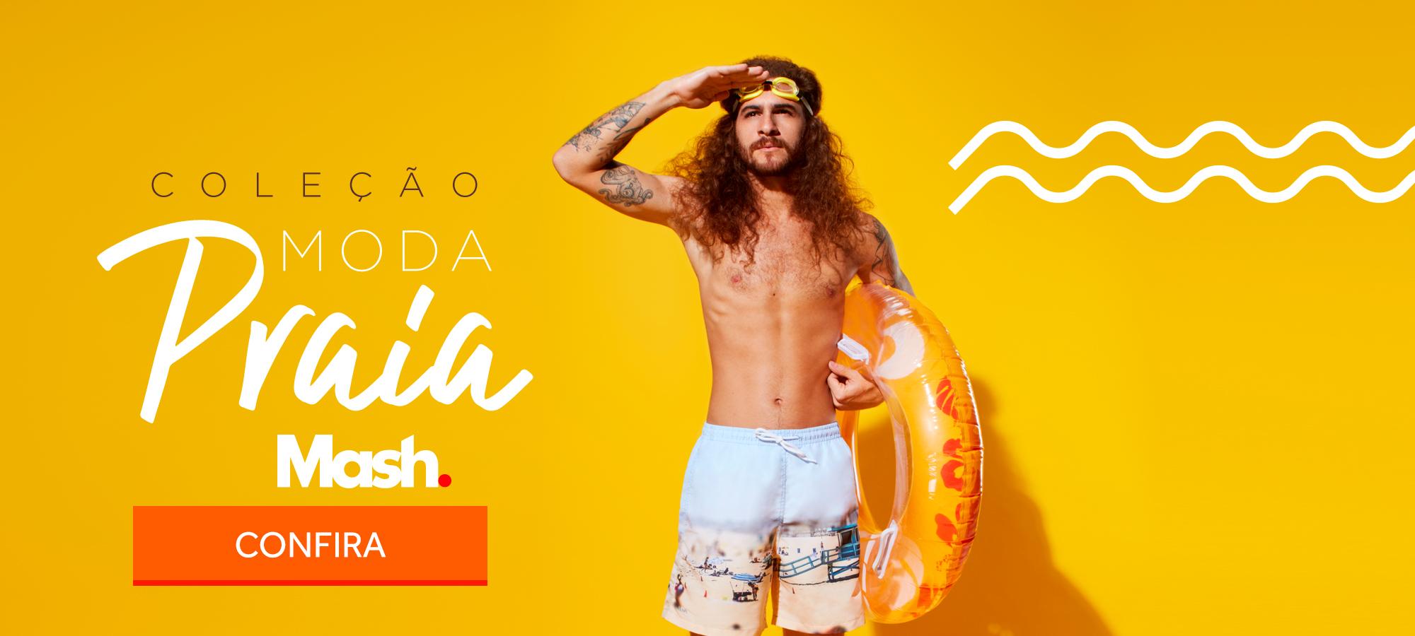 Moda praia shorts