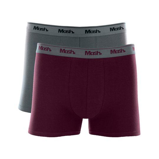 0ae767f3c43f0d Kit cueca boxer cotton 2 peças l CUECAS BOXER MASH - Mash