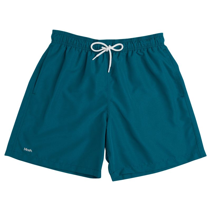 Shorts Liso Verde Petroleo Mash