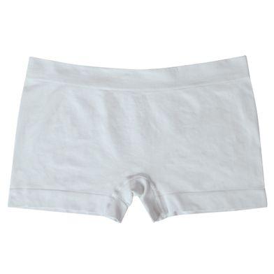 Calcinha Boyshorts Microfibra Sem Costura Branco Mash
