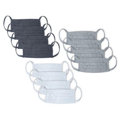 Kit 60 Máscaras de Proteção Respiratória Cinza Mescla Claro Mash