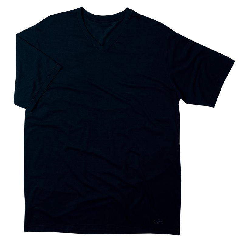 Camiseta Modal Manga Curta Preto Mash