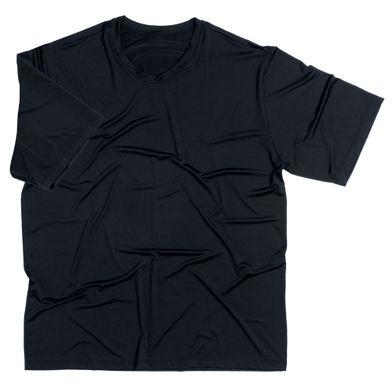 Camiseta Microfibra Manga Curta Preto Mash
