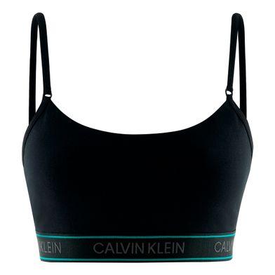 Top Alças Cotton  Preto Calvin Klein