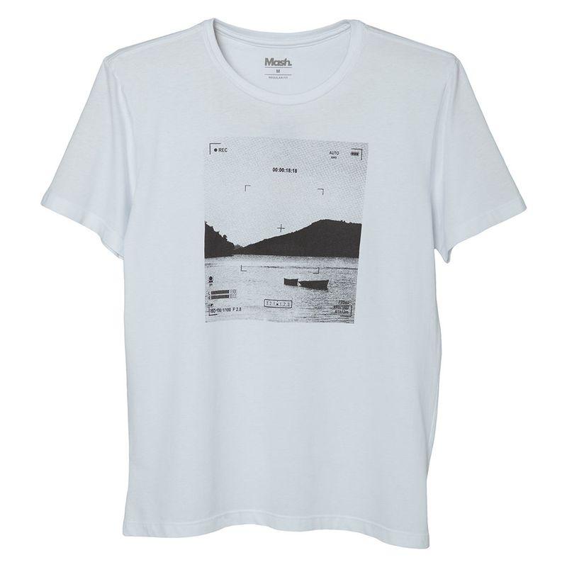 Camiseta Estampada Paisagem Mash