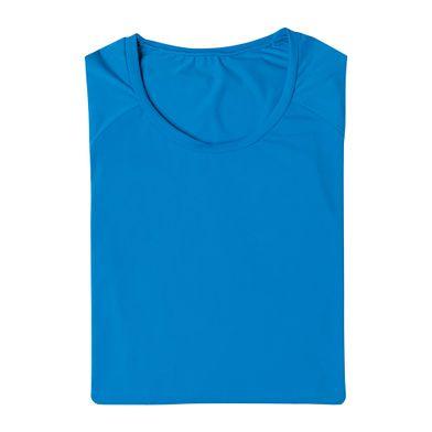 Camiseta Manga Longa Com Proteção UV FPS 50 Azul Royal Mash