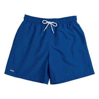 Shorts Liso Azul Royal Mash