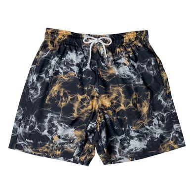 Shorts Estampado Nevoa FPS 30 Amarelo Mash