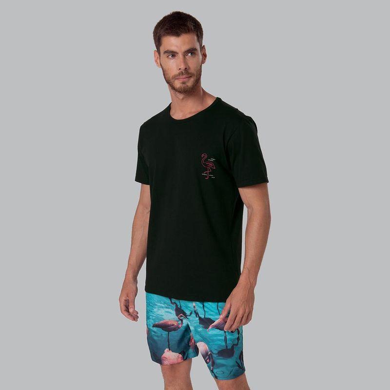 Camiseta-Estampada-Flamingo-Preto-Mash-63226