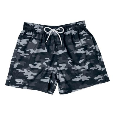 Shorts Curto Estampado Camuflado FPS 30 Preto Mash