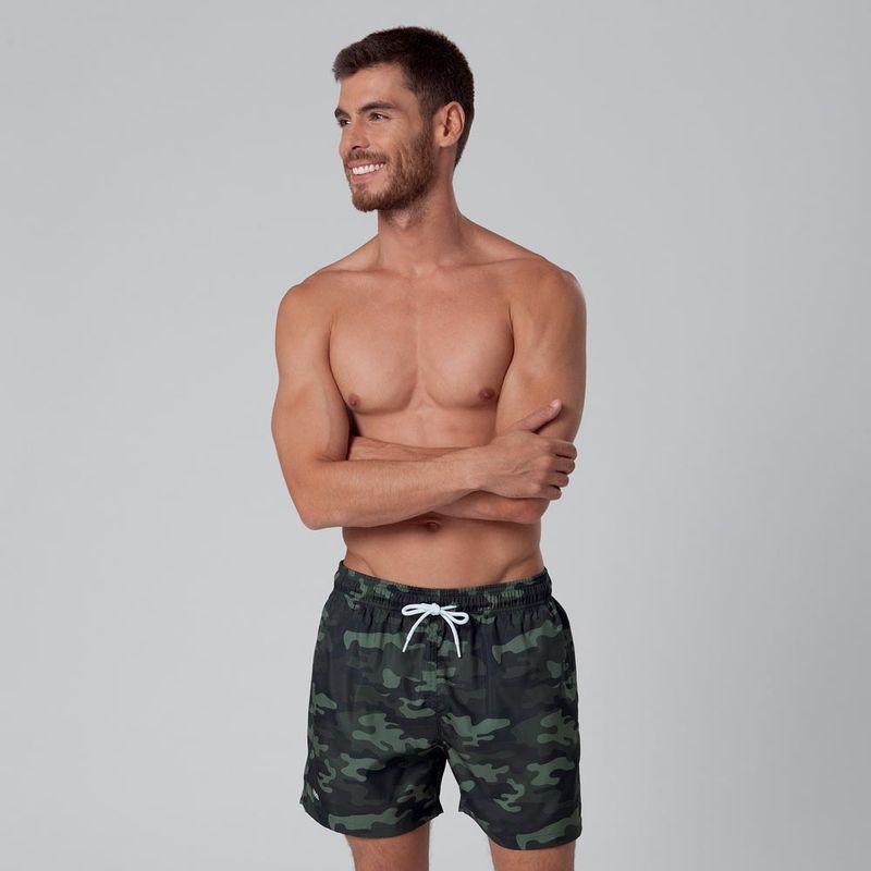 Shorts Curto Estampado Camuflado FPS 30 Mash