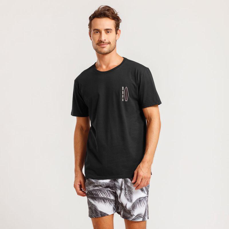 Camiseta Estampada Surf