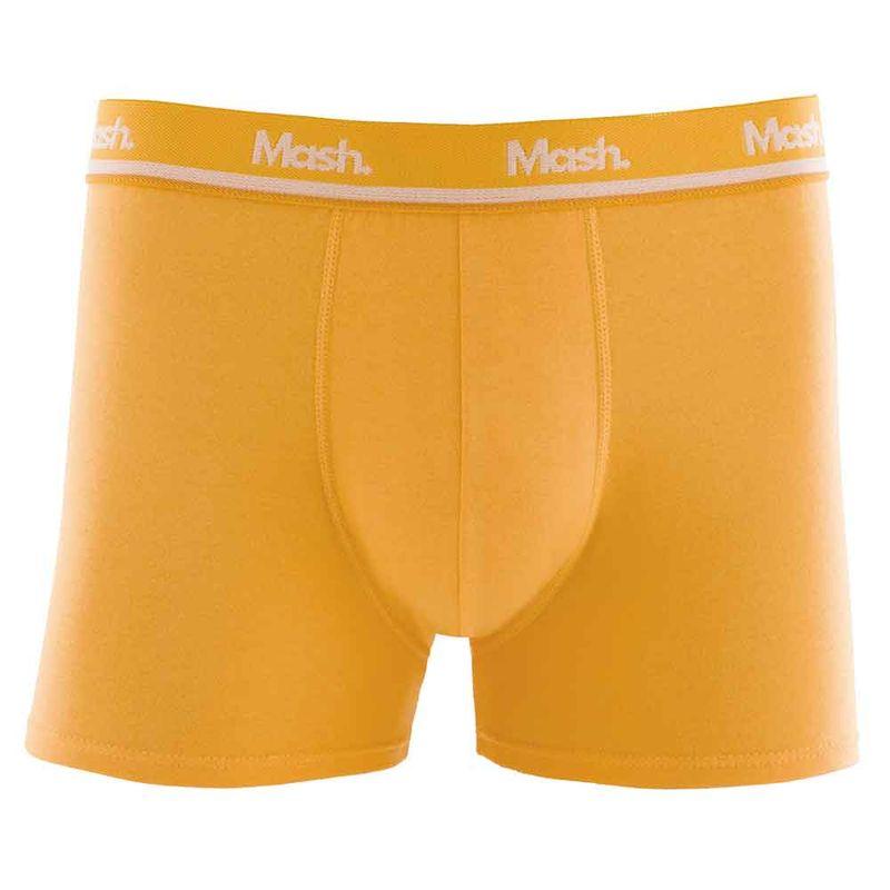 Cueca Boxer Cotton Amarelo
